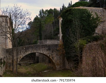 Girona city - Old Galligants bridge - Catalonia / Spain