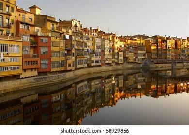 Girona's houses