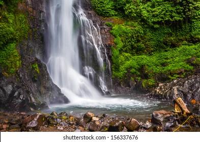 Git Git waterfall in north Bali, Indonesia