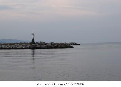 Giulianova Harbour sunset (Abruzzo Italy) 3