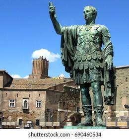 giulio cesare statue