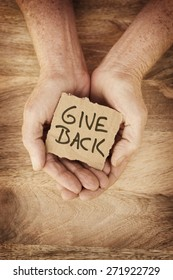 Give Back - Charity
