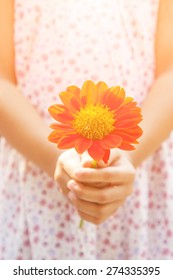 Give flowers for you.