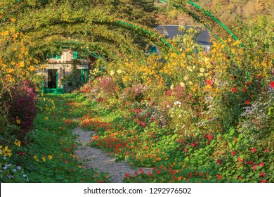Giverny garden, Normandy, France