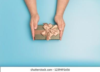 Giving Christmas presents