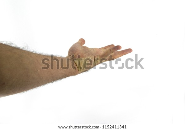 giving the hand taking something