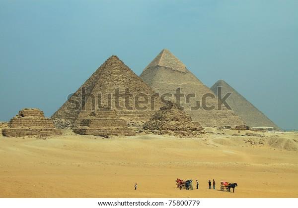 Giza Pyramids - Pano