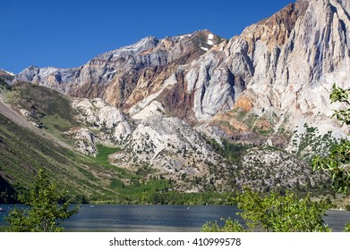 Glacial Cirque Basin of Convict Lake in California