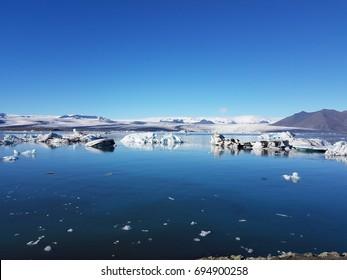 Glacial Ice Lagoon, Iceland