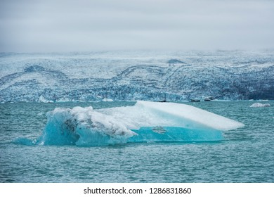 Glacial lagoon of Jokulsarlon