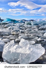 Glacial Lagoon - southeastern Iceland