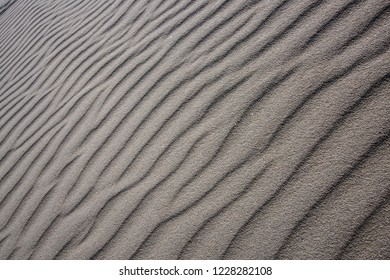 Glacial sediment and sand formation by wind and water in Akshayuk Pass, Nunavut