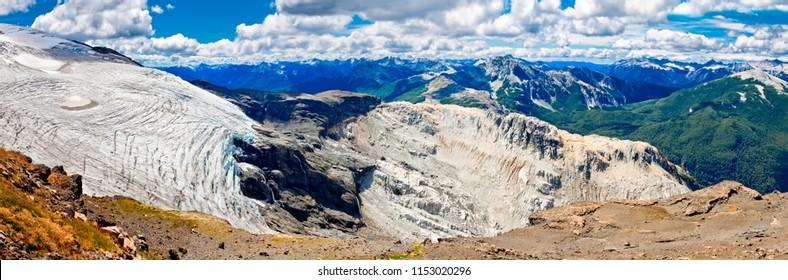 Glacier Alerce. Mountain Tronador. Province  Rio Negro. Andes. Argentina.