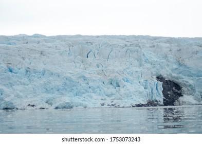 Ein Gletscher in der Arktis
