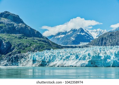 Glacier in Glacier Bay, Alaska