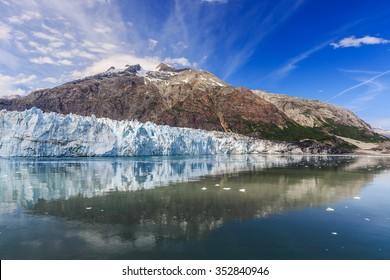 Glacier Bay, Alaska. Margerie Glacier in Glacier Bay National Park