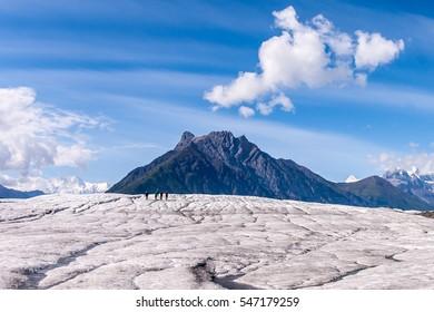 glacier climbers