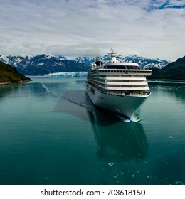 Glacier cruising in Alaska