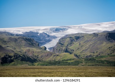 Glacier of Eyjafjallajokull