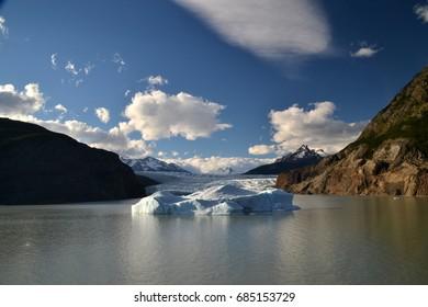 Glacier Grey, Torres del Paine, Chile