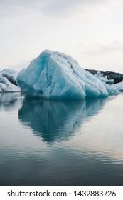 Jökulsárlón glacier iceberg lagoon in Iceland