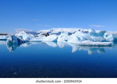 Jökulsárlón Glacier in Iceland