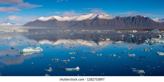 Glacier lagoon iceland jökulsarlon