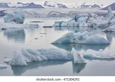 Glacier Lagoon Joekursarlon in Iceland