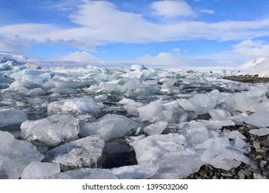 Jökulsárlón Glacier Lagoon - Vatnajökull National Park, southeastern Iceland