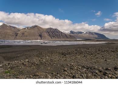 Skaftafellsjökull Glacier Lagoon, Skaftafell National Park, Iceland