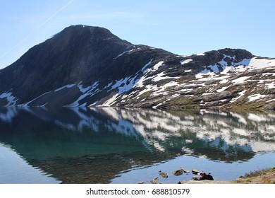 Glacier lake, Norway