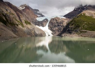 Glacier los Perros, Torres Del Paine National Park, Patagonia, Chile