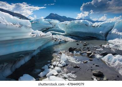 Glacier Matanuska Alaska