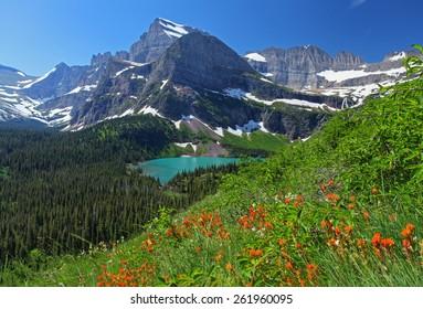 Национальный парк Глейшер в Монтане