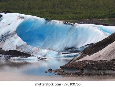 Glacier near Valdez, Alaska
