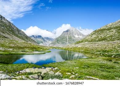 Glacier paradise, swiss mountain secrets