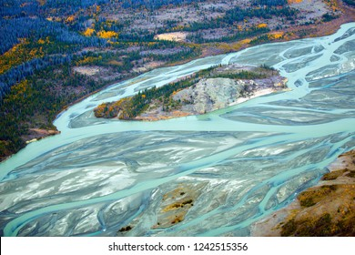 Glacier Runoff in Kluane National Park, Yukon Territories, Canada