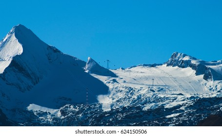 Glacier ski resort