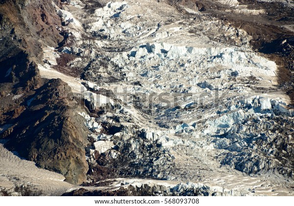 Glacier Snow, Mount Rainier National Park