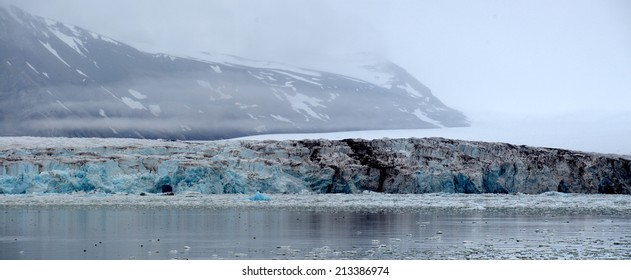 Glacier with some dirt