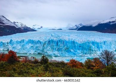 Glacier South America