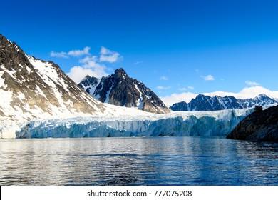 Glacier in Spitsbergen