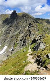 Glacier Valley in the Transylvanian Alps, Romania