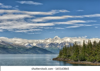 Glacier view in Alaska Prince William Sound