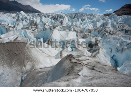 glaciers and ice