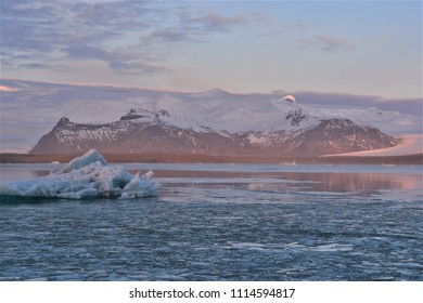 Glaciers and icebergs in Iceland