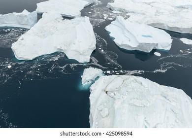 Glaciers at Ilulissat