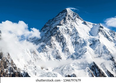Glaciers and the K2 peak