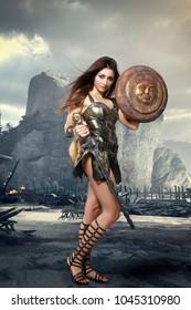 Gladiator Roman warrior