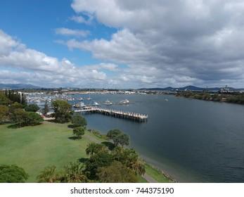 Gladstone marina Australia